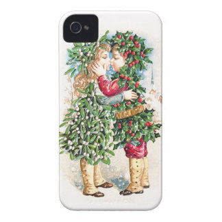Christmas Kiss iPhone 4 Case-Mate Cases