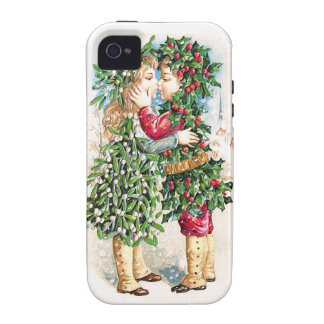 Christmas Kiss iPhone 4 Cases