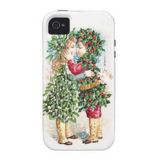 Christmas Kiss iPhone 4/4S Covers