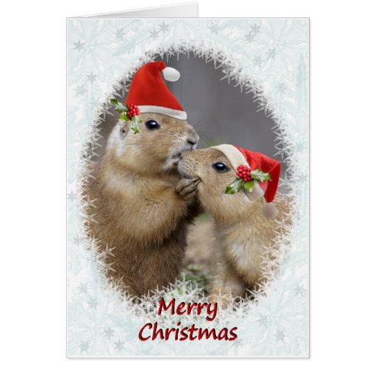 Christmas Kiss Christmas Card