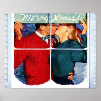 Christmas Kiss Poster