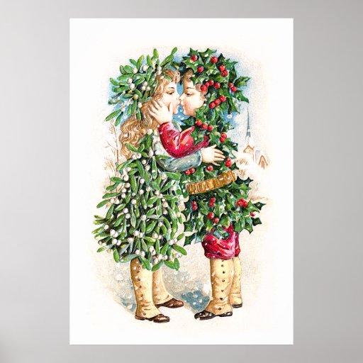 Christmas Kiss Posters