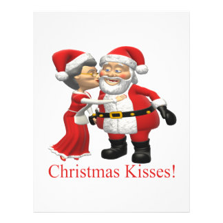Christmas Kisses Flyer Design