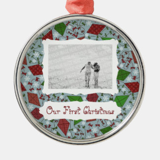 Christmas Kites, premium photo ornament