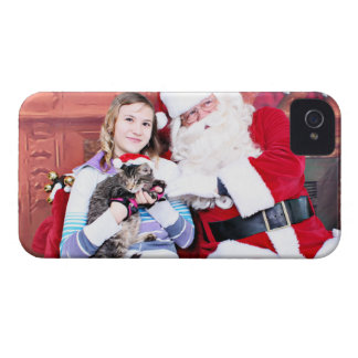 Christmas - Kitten iPhone 4 Case-Mate Case