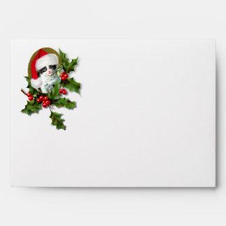 Christmas Kitten Envelopes