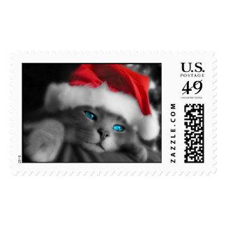 Christmas Kitten Postage