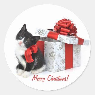 Christmas Kitten, Stickers