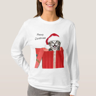 Christmas kitten T-Shirt