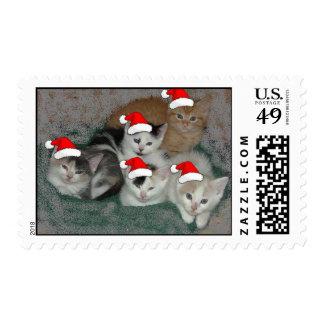 Christmas Kittens Postage