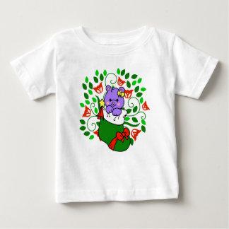 Christmas Kitty Baby T-Shirt
