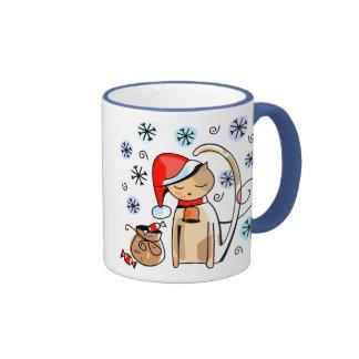 Christmas Kitty Holiday Mug