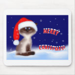 Christmas Kitty Mouse Mat