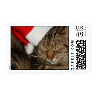 Christmas Kitty Postage