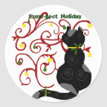 Christmas kitty, Purrr-fect Holiday stickers