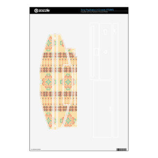 Christmas knitted pattern decal for PS3