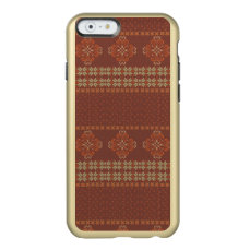 Christmas knitted pattern incipio feather shine iPhone 6 case