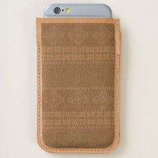Christmas knitted pattern iPhone 6/6S case
