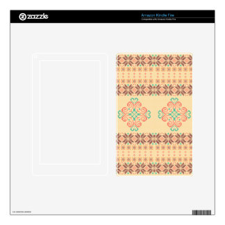 Christmas knitted pattern kindle fire decals