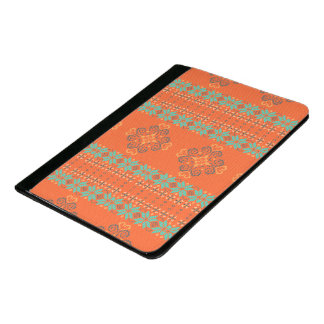 Christmas knitted pattern padfolio