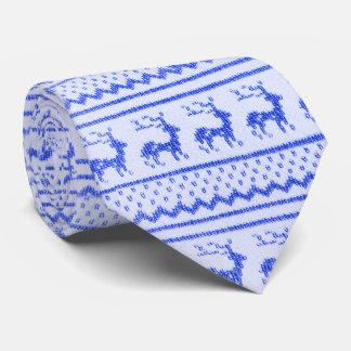 Christmas knitwear tie