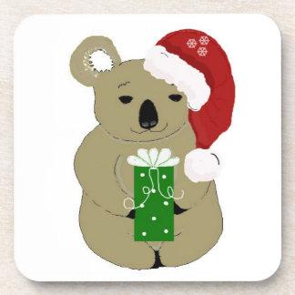 Christmas Koala Bears Coaster