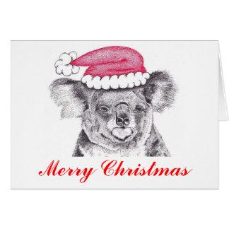 Christmas Koala Card