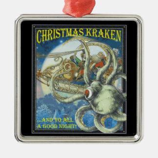 Christmas Kracken Ornament