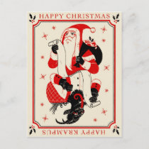 Christmas Krampus Card - List