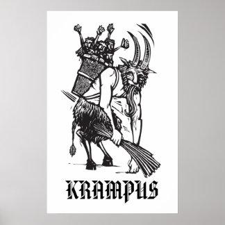 Christmas Krampus Poster