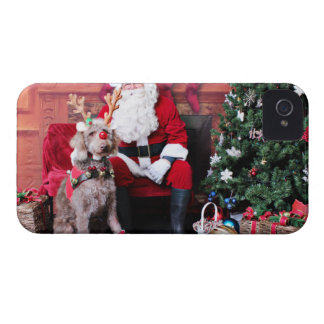 Christmas - LabraDoodle - Gabe Case-Mate iPhone 4 Case