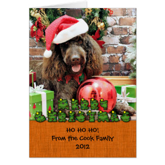 Christmas - LabraDoodle - Harley Stationery Note Card