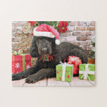 Christmas - LabraDoodle - Miller Puzzles