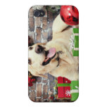 Christmas - Labrador - Ally Covers For iPhone 4