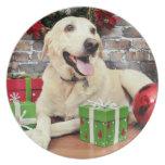 Christmas - Labrador - Ally Dinner Plate