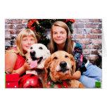 Christmas - Labrador  Ally - Golden Wrigley Cards