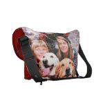 Christmas - Labrador  Ally - Golden Wrigley Messenger Bag