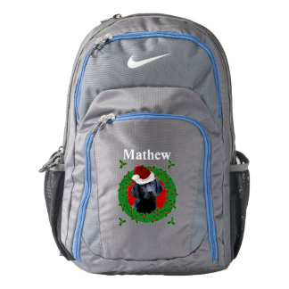Christmas Labrador Dog Backpack
