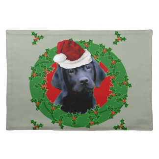 Christmas Labrador Dog Placemat