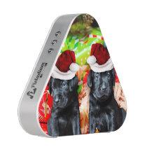Christmas Labrador dogs Bluetooth Speaker