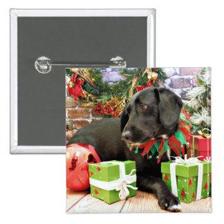 Christmas - Labrador Golden X - Abby Pin