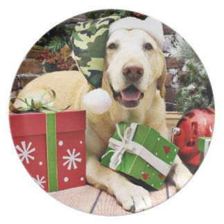 Christmas - Labrador - Jackson Plates