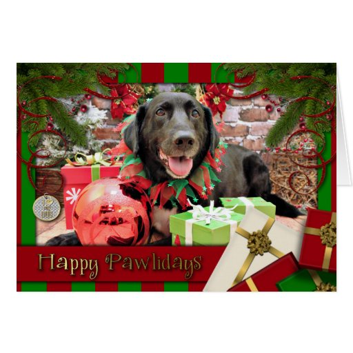 Christmas - Labrador - Lennon Card