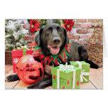 Christmas - Labrador - Lennon Greeting Cards