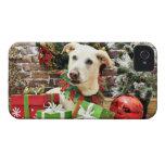 Christmas - Labrador X - Max Case-Mate iPhone 4 Cases