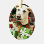 Christmas - Labrador X - Max Ornament