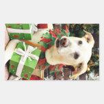 Christmas - Labrador X - Max Stickers