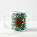 Christmas Lace Pattern Mug