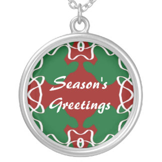 Christmas Lace Pattern Pendant