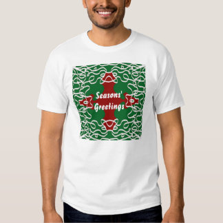 Christmas Lace Pattern T-Shirt